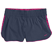Brooks Womens DLite 4 Low Rise Short SS14